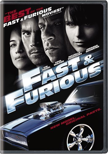 Fast & Furious (Universal) DVD Image