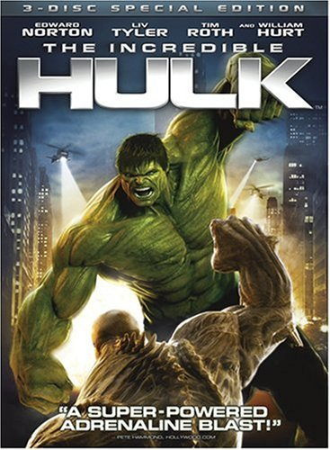 Incredible Hulk (2008/ Widescreen/ Special Edition/ 3-Disc) DVD Image
