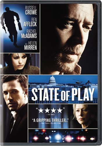 State Of Play (2009) DVD Image