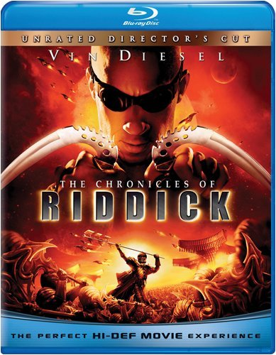 Chronicles of Riddick  [Blu-ray] DVD Image