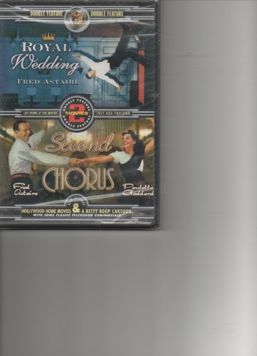 Fred Astaire Double Feature (Catcom Home Video): Royal Wedding / Second Chorus DVD Image