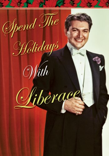 Spend the Holidays With Liberace DVD Image