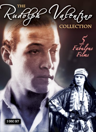Rudolph Valentino Collection (3-Disc): The Married Virgin / The Sheik / Blood And Sand / Cobra / The Eagle DVD Image