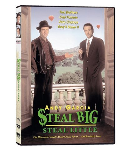 Steal Big, Steal Little DVD Image