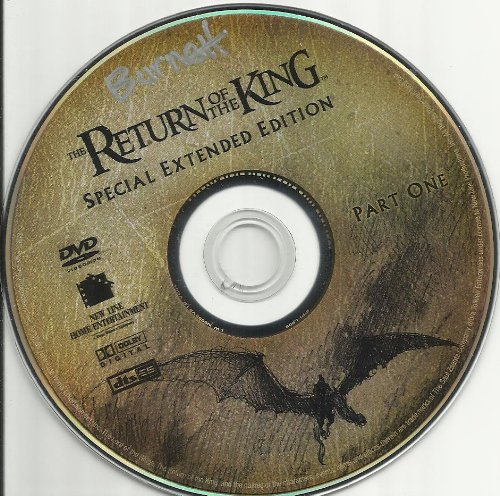 The Return of the King Special Extended Edition Disc 1 Part 1 Replacement Disc! DVD Image