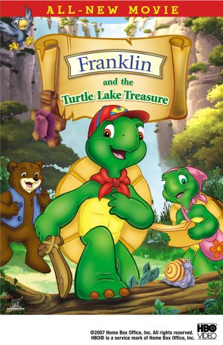 Franklin And The Turtle Lake Treasure DVD Image