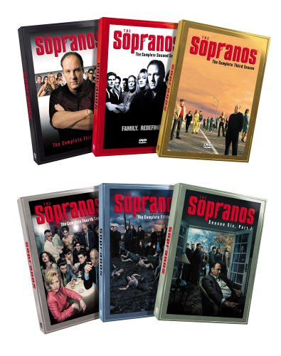 The Sopranos - The Complete Seasons 1 - 5 & Season 6, Part 1 (6-Pack) DVD Image