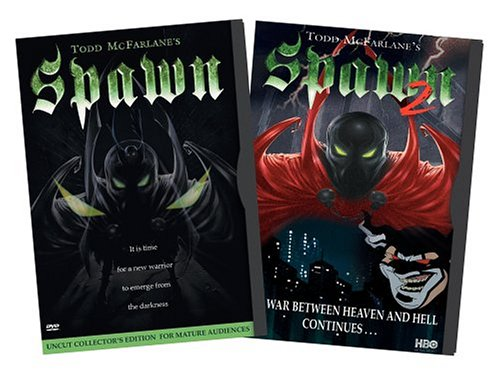 Spawn - Uncut Collector's Edition / Spawn 2 (Two-Pack) DVD Image