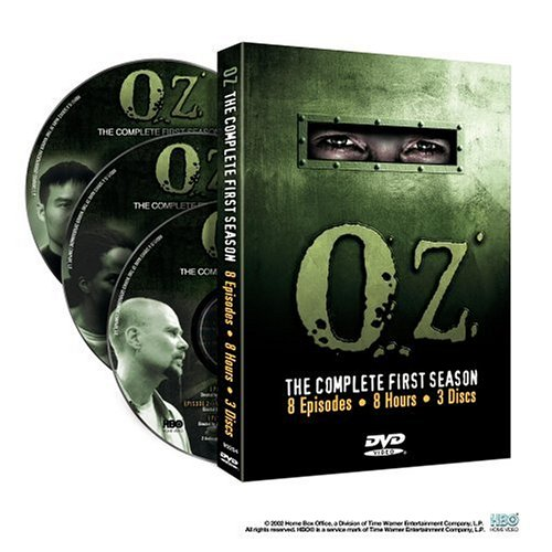 Oz: The Complete 1st Season DVD Image