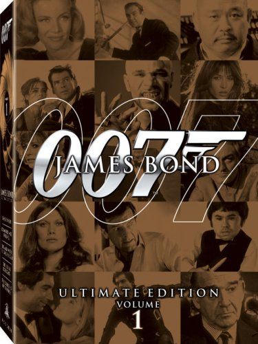 James Bond Ultimate Collection, Vol. 1: Goldfinger / World Is Not Enough / Diamonds Are Forever / Man With The Golden Gun / ... DVD Image