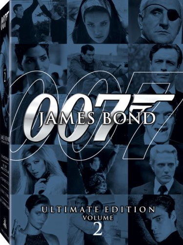 James Bond Ultimate Collection, Vol. 3: Thunderball / Die Another Day / The Spy Who Loved Me / View To A Kill / License To Kill DVD Image