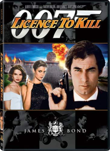 License To Kill (1989) DVD Image