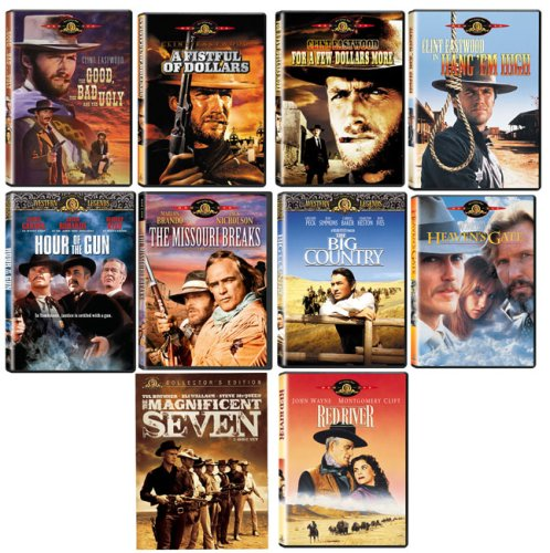 Ultimate Westerns DVD Giftpack (10 pk) DVD Image
