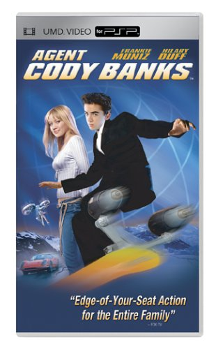 Agent Cody Banks [UMD for PSP] DVD Image