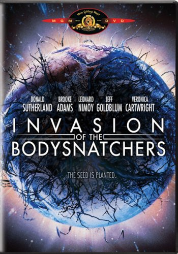 Invasion of the Body Snatchers DVD Image
