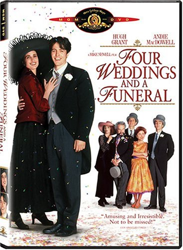 Four Weddings And A Funeral (MGM/UA) DVD Image
