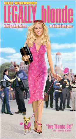 Legally Blonde [VHS] DVD Image