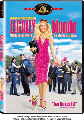 Legally Blonde DVD Image