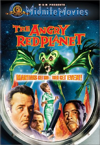 The Angry Red Planet DVD Image