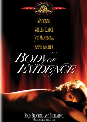 Body of Evidence (Unrated) DVD Image