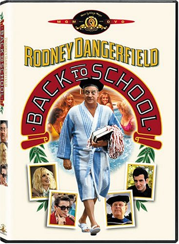 Back To School (1986) DVD Image
