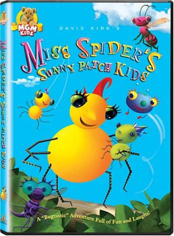 Miss Spider's Sunny Patch Kids DVD Image