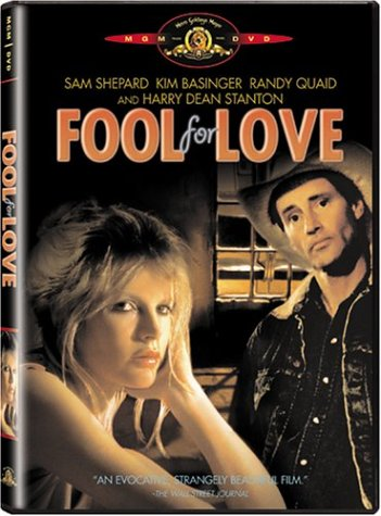 Fool For Love DVD Image