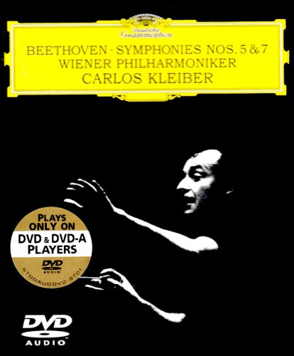 Beethoven: Symphonies No. 5 & 7: Carlos Kleiber (Audio-Only DVD) DVD Image