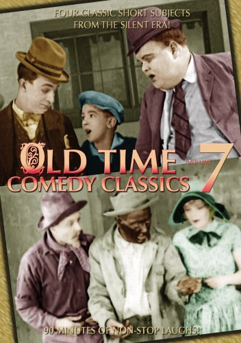 Old Time Comedy Classics, Vol. 7: Are Golfers Cuckoo? / Fooling Casper / Mine Your Business! / Figures Do Lie DVD Image