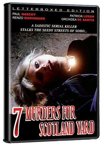 7 Murders for Scotland Yard DVD Image