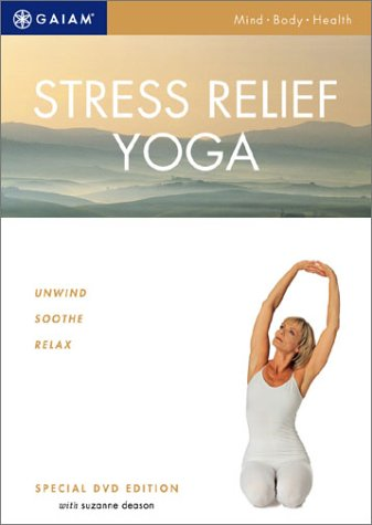 Stress Relief Yoga DVD Image