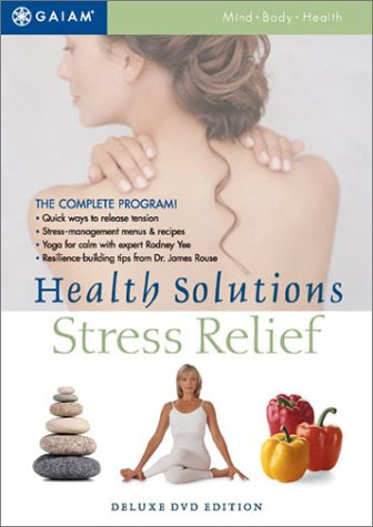 Health Solutions - Stress Relief DVD Image