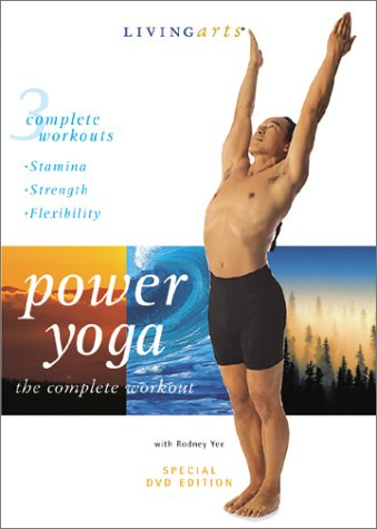Power Yoga the Complete Workout - Stamina, Strength, Flexibility with Rodney Yee DVD Image