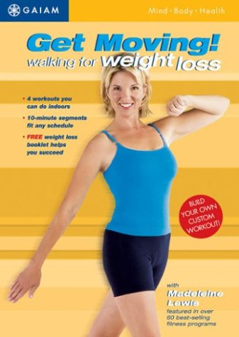 Get Moving: Walking For Weight Loss DVD Image