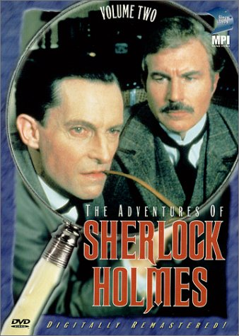 The Adventures of Sherlock Holmes - Vol. 2: The Crooked Man/ The Speckled Band DVD Image