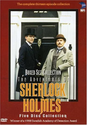 The Adventures of Sherlock Holmes (Boxed Set Collection) DVD Image