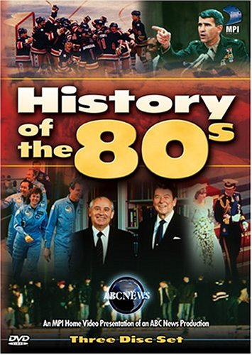 History of the 80's DVD Image