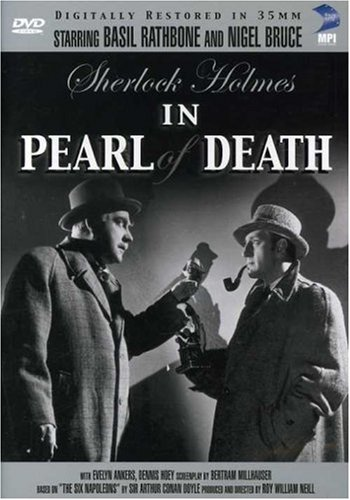 Sherlock Holmes: The Pearl Of Death DVD Image