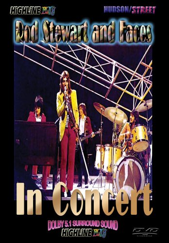 Rod Stewart & Faces: In Concert DVD Image