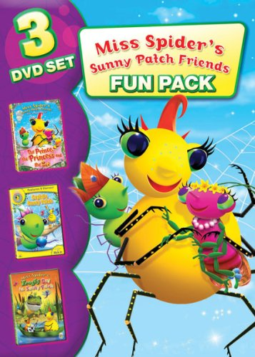 Miss Spider: Family Fun Pack (3pc) DVD Image