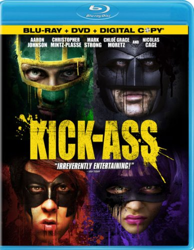 Kick-Ass (Two-Disc Blu-ray/DVD Combo Pack + Digital Copy) DVD Image