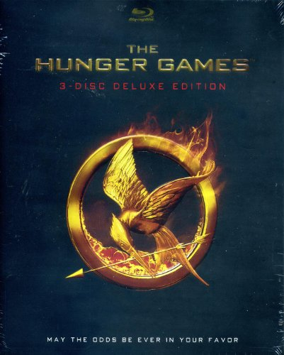 The Hunger Games [Blu-Ray] 3-Disc Deluxe Edition with 45 Minutes of Exclusive Content on Tribute Video Diaries, Stories from the Tributes, On-set Photo Galleries and More DVD Image