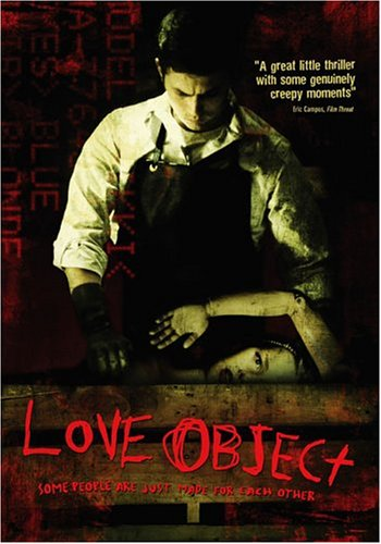 Love Object DVD Image