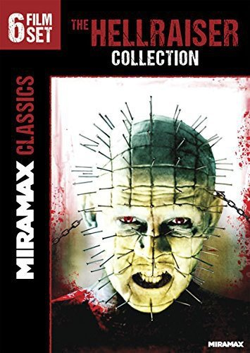 The Hellraiser Collection (III: Hell on Earth / IV: Bloodline / V: Inferno / VI: Hellseeker / VII: Deader / VIII: Hellworld) DVD Image