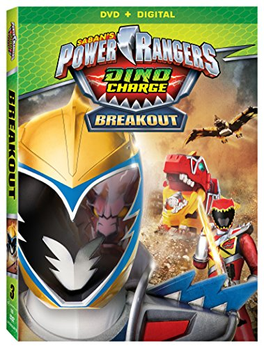 Power Rangers Dino Charge: Breakout [DVD + Digital] DVD Image