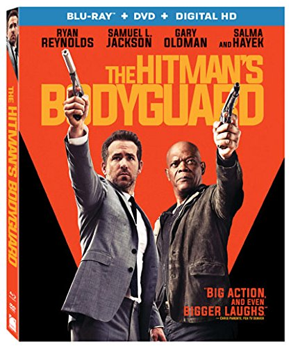 The Hitman's Bodyguard [Blu-ray + DVD] DVD Image