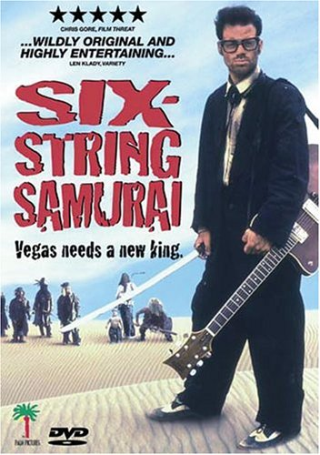 Six-String Samurai: Vegas Needs A New King (Dist. by Lions Gate) DVD Image