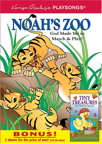 Noah's Zoo: God Made Me To March & Play! / Tiny Treasures: God Made Me Special DVD Image