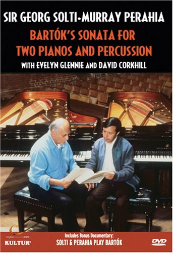 Bartok: Bartok's Sonata For Two Pianos And Percussion: Georg Solti And Murray Perahia DVD Image