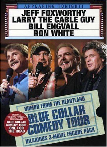 Blue Collar Comedy Tour (3-Pack): Blue Collar Comedy Tour: The Movie / Blue Collar Comedy Tour Rides Again / One For The Road DVD Image